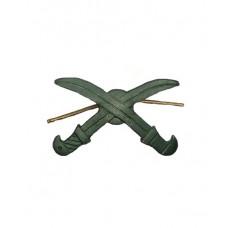 Эмблема полевая казачьих войск (шашки)