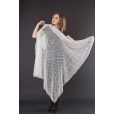 Оренбургский пуховый платок (140х140 см)