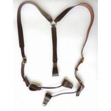 Портупея казачья трехлучевая (коричневая)
